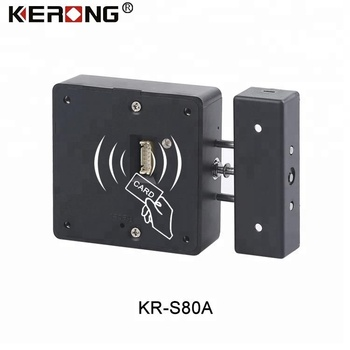 KERONG Smart Keyless APP Cabinet Lock Hidden Safe Electronic RFID Card Locker Lock For Furniture