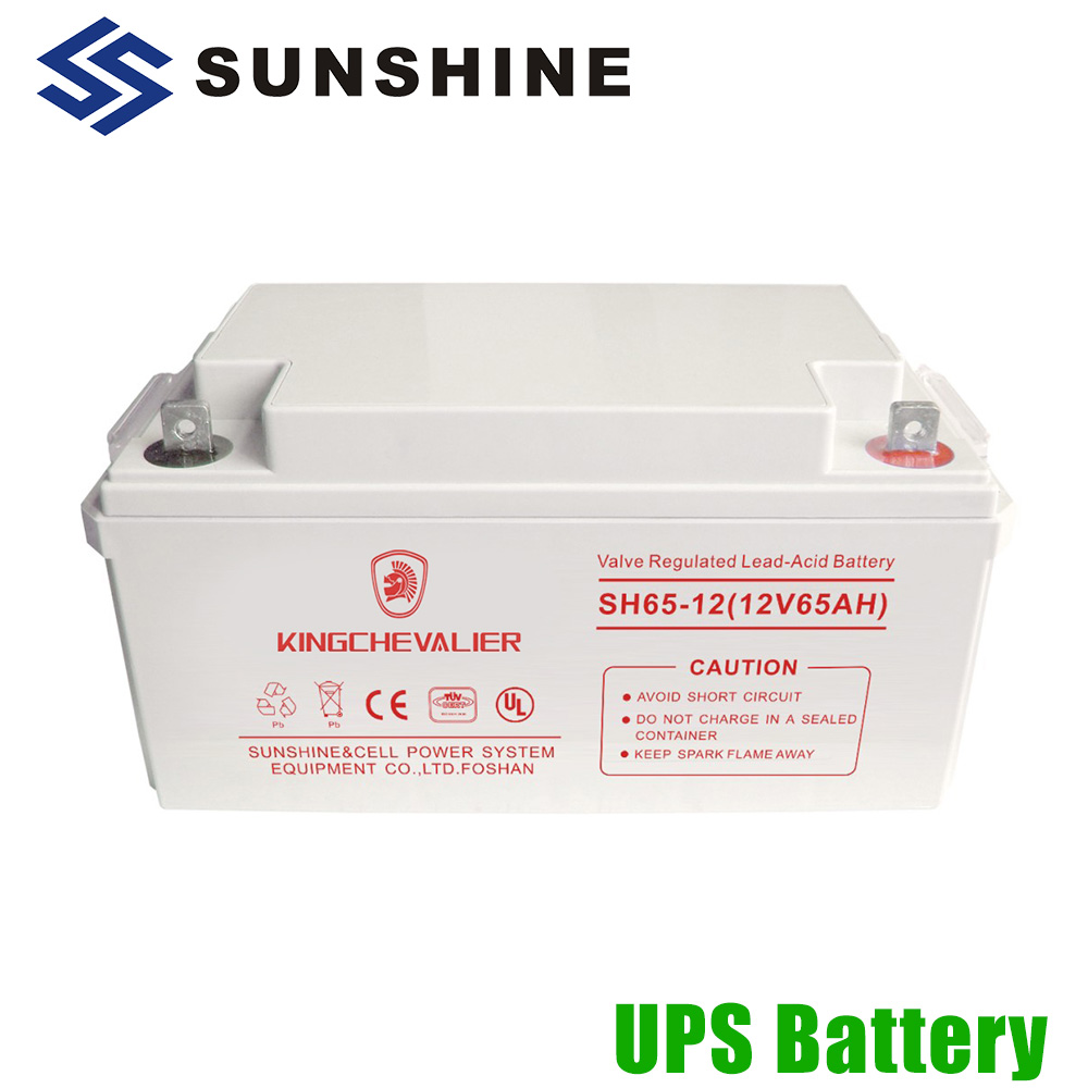 High-Rate Discharge 12V 65Ah 6 Fm 17 Battery