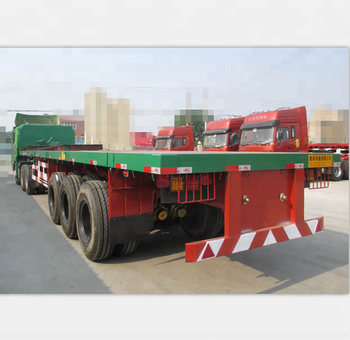Flatbed Truck For Sale >> Factory Price 40 Platform Container Semi Trailer 40feet Flatbed Truck For Sale Buy 40 Platform Container Semi Trailer 40feet Flatbed Chassis