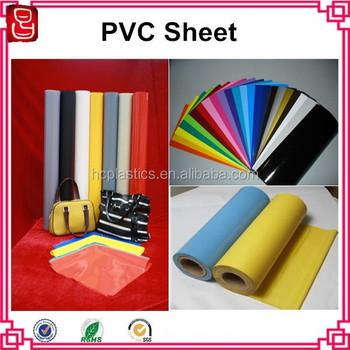 Soft Clear Pvc Plastic Film /color Pvc Flexible Plastic Sheet ...