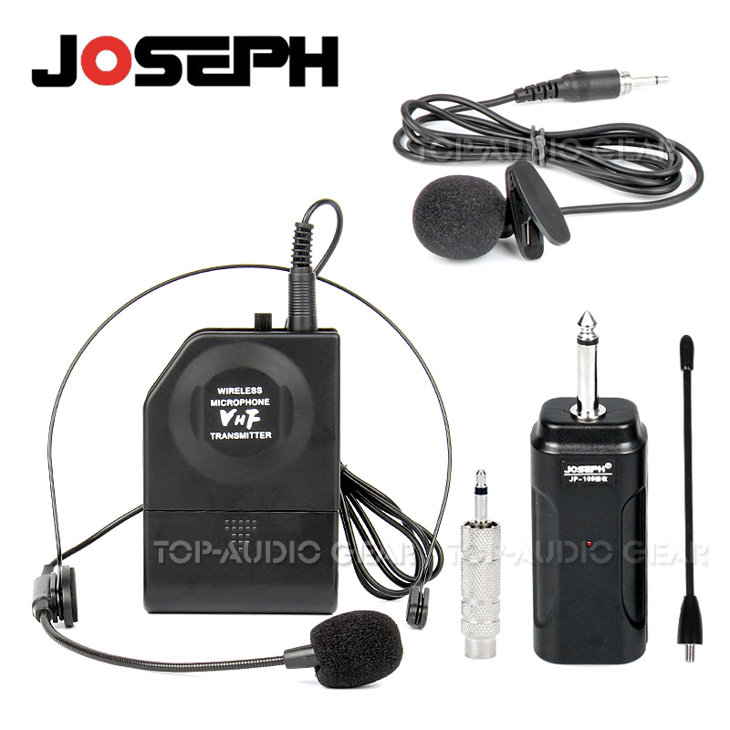 Free Shipping Professional Vhf Lapel Lavalier Headset Mic Wireless Microphone System For Karaoke Singing Ktv Conference Meeting Wireless Microphone System Microphone Systemwireless Microphone Aliexpress