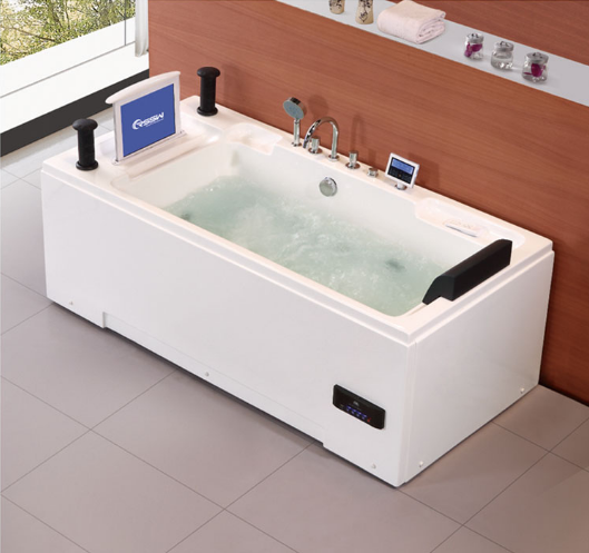 Jet Whirlpool Bathtub With Tv, Jet Whirlpool Bathtub With Tv Suppliers And  Manufacturers At Alibaba.com