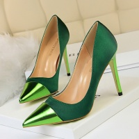 SS0474 New arrival 2019 big tree women banquet stiletto heel shoes ladies fashion wedding pumps shoes