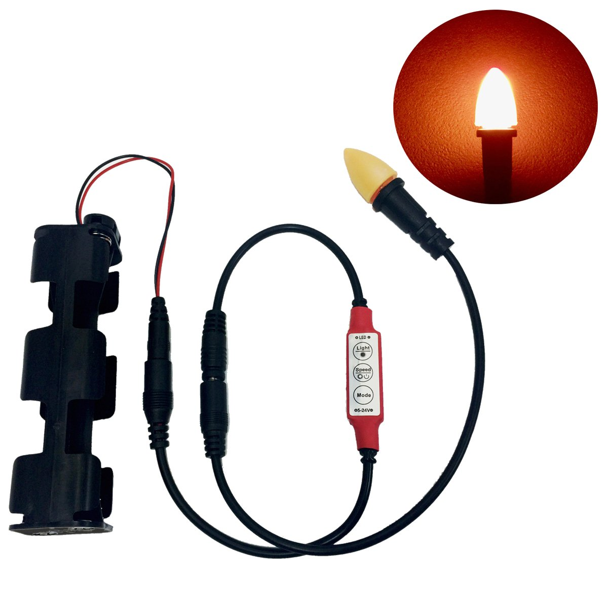 Cheap Flicker Light Circuit Find Deals On Led Candle With Realistic And Board Style Get Quotations Simulated Flame Effects Controller For Lanterns Candles Torches Props Scenery Faux Fire