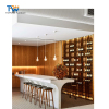 Customized size commercial bar counters/home kitchen bar counter modern designs