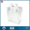 Semi-Transparent FROSTED (SMALL) Rigid Plastic Soft Loop Handle Gift / Retail Shopping Bags