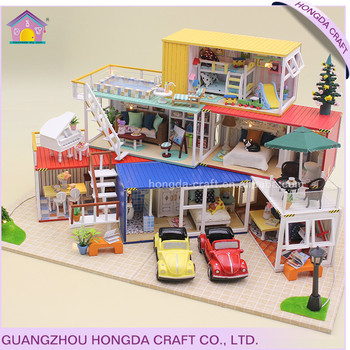 Hot Sale Diy Miniature Doll House Best Handmade Gift Ideas Buy