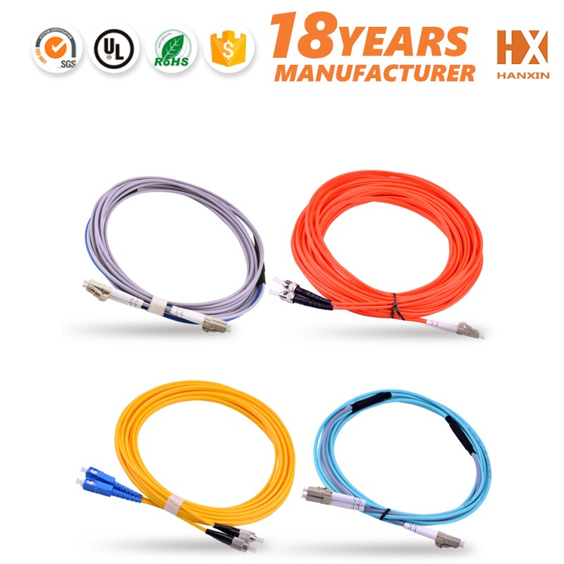 European Style Clamp Indoor Ftth Patch Cord