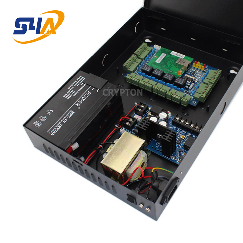 Buy Cheap Four Door Network Access Control Panel Board With Software Communication Protocol Tcp/ip Board Wiegand Reader For 4 Door Use Diversified In Packaging Access Control Access Control Kits
