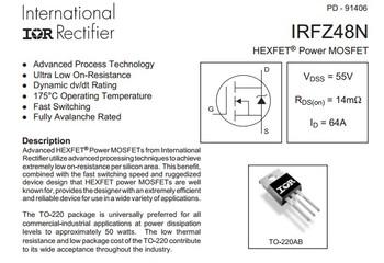 HEXFET-Power-MOSFET-IRFZ48N-IRFZ48NPBF-T