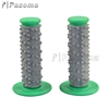 Wholesale Pazoma Rubber 7/8'' Green Motorcycle Hand Grips for Dirt Bike Motocross ATV
