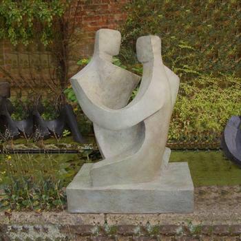 Sculpture D Art John Brown Duo Moderne Abstrait Couple Assis Statues De Jardin Buy Oeuvre De Sculpture Moderne Sculpture D Art De Sculpture