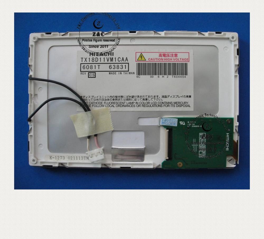 "7.0/"" HITACHI TX18D11VM1CAA 800×480 TFT 7.0 inch LCD Panel Display Screen 40 pins"