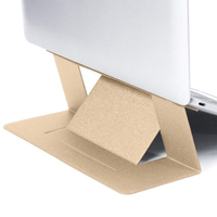 Factory direct hot sale folding Laptop holder adhesive adjustable laptop stand