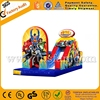 Popular large inflatable obstacle course inflatable bouncer slide A5034