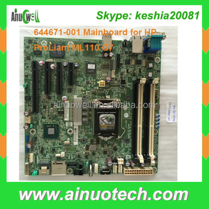 Mainboard 644671-001 625809-002 625809-001 server motherboard for HP ProLiant ML110 G7 G6 G8 BDPLANAR L computer system board