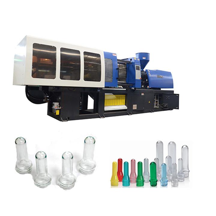Tam Otomatik hidrolik 90 ton PVC Plastik enjeksiyon kalıplama makinesi