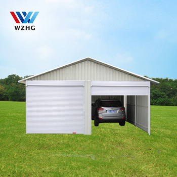 Garden Bike Shed Sliding Door Tools Shed Steel Garage Buy