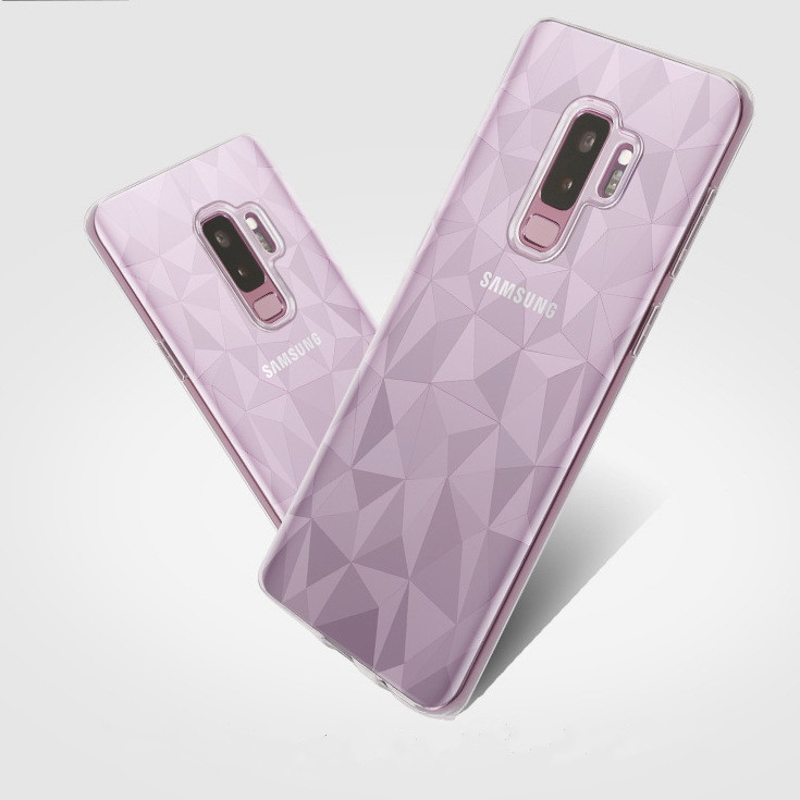 For samsung galaxy s9+ Case,High Quality Transparent Clear Soft TPU Phone Case For samsung galaxy s9 plus Cover