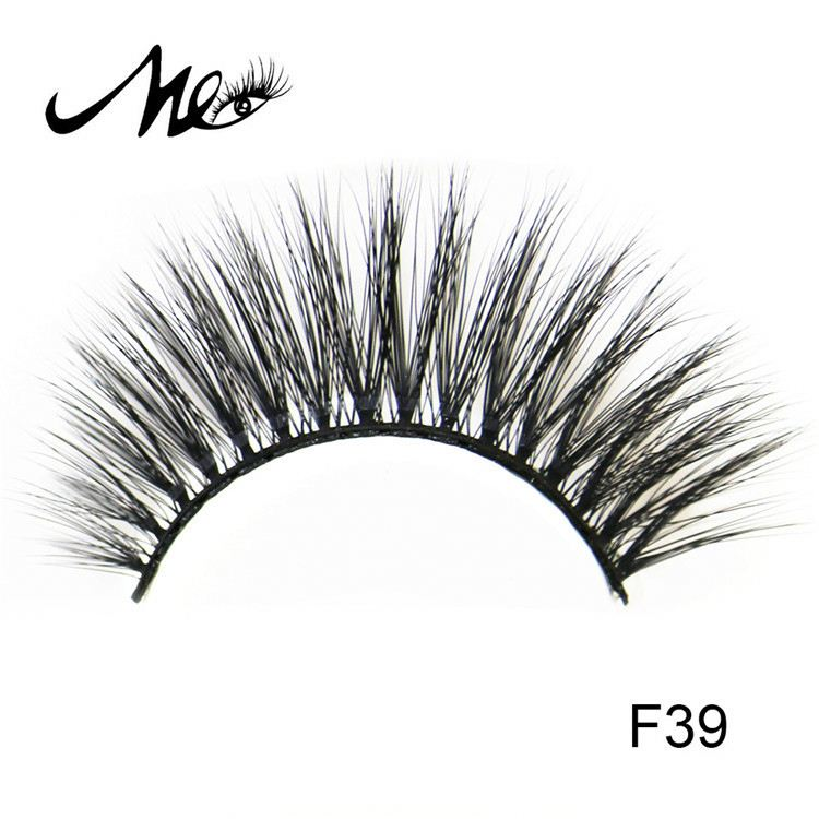 Hand made top quality false 3d synthetic eyelashes manufacturer