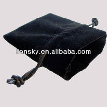 An exquisite and luxurious velvet square shape pouch bag