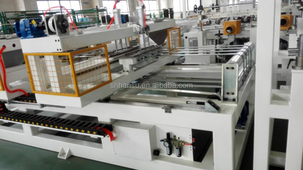 Cross cutter machine for xps foam board extrusion line