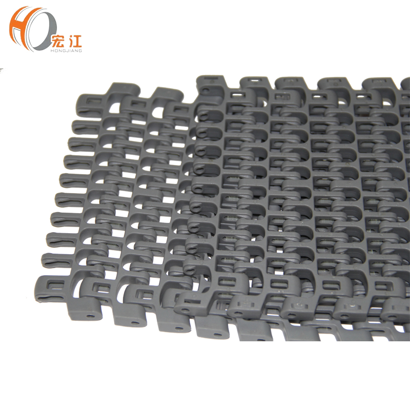 H610 POM food grade modular plastic conveyor belt price pitch 25.4 width152