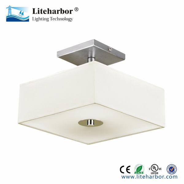 Semi Flush Square Led Ceiling Light