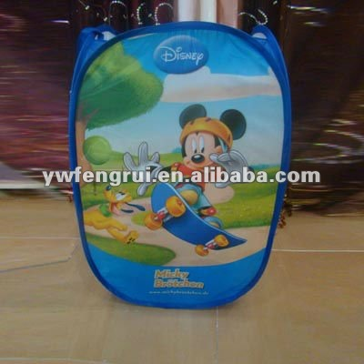Useful ocean Tom and Jerry cartoon series collapsible laundry basket