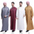 Cheap factory price wholesale islamic abaya for men