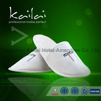 Thick Sponge Closed Toe Hotel Indoor Slippers