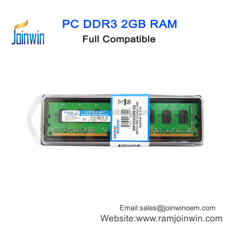 Shenzhen joinwin 1333mhz ddr3 240-pin 2gb RAM for desktop in stock