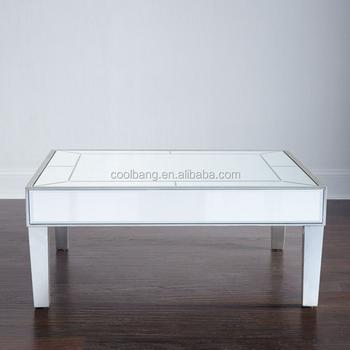table En Miroir Plexiglas Buy Transparente À Luxe Basse Haute Ottoman Table Plexiglas Style De Brillance fyb67g