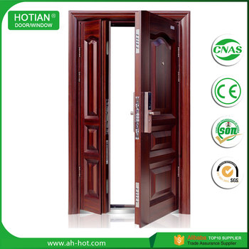 Hot Sale Mother And Son Security Steel Front Doors Grill Design