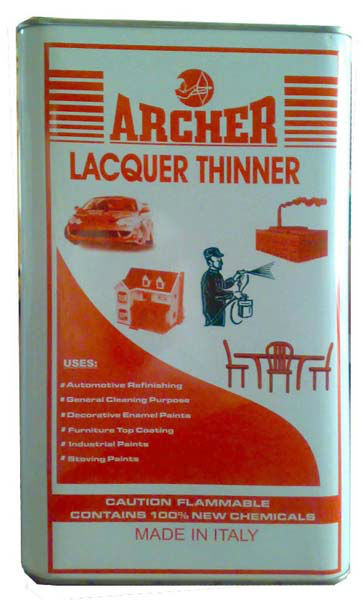 Archer Lacquer Thinner - Buy Acrylic Lacquer,Acrylic Lacquer Auto  Paint,Clear Lacquer Product on Alibaba com