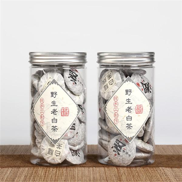 Fujian produced White tea Mini Shoumei tea cakes with 8g each mini cake - 4uTea | 4uTea.com