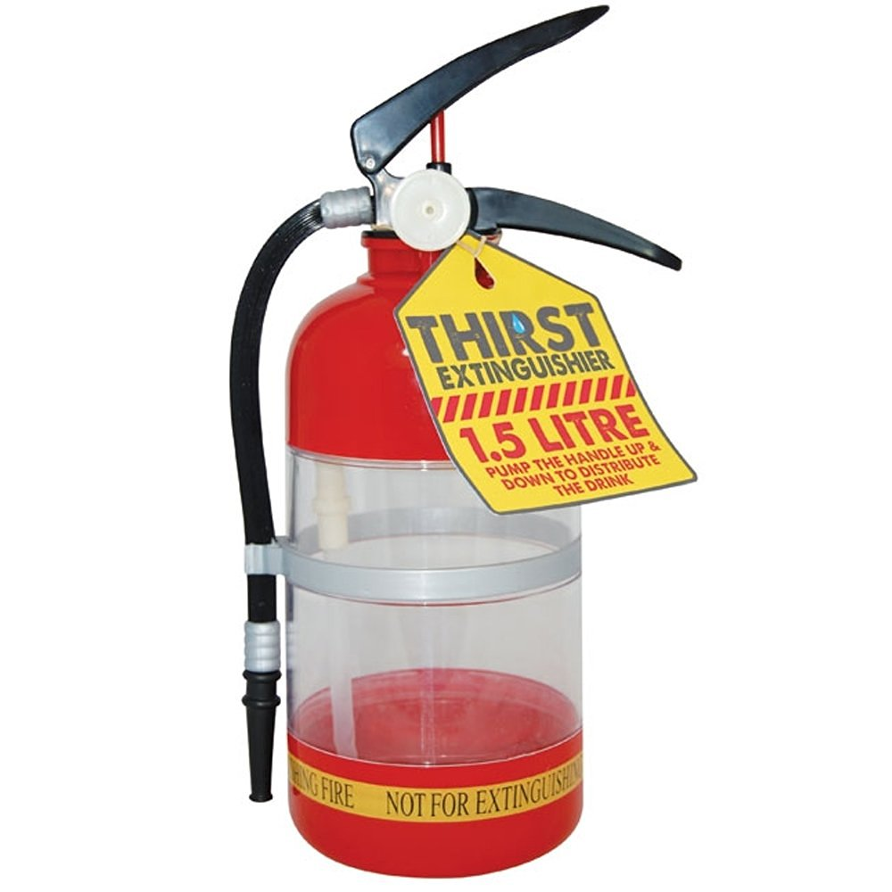 1500 ML Firefighting Drink Dispenser Novelty in the Party / Fire Extinguisher Drink Dispenser