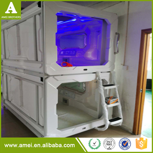 Vacuum thermoforming capsule hotel bed, sleep cabin, airport pod