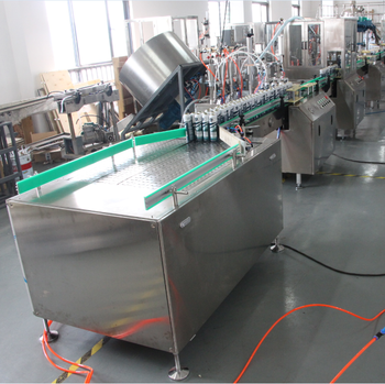 High capacity full automatic aerosol can filling lines machine companies