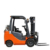 Chinese hot sale diesel forklift with hydraulic transmission