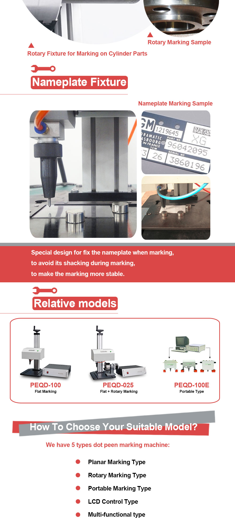 Vin code/Sign/nameplate/chasis Handheld Industrial Automatic Pneumatic dot pin marking machine for metal engraving