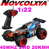 Cheap Mini RC Car 1:22 scale 2WD Race 40MHZ Radio Control Car Kit 20Kmh Speed Made In Guangdong
