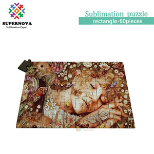 Sublimation Printing Jigsaw Puzzles, Jigsaw Puzzles Blank, Personalized Hardboard Puzzles Sublimation