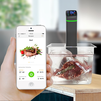 slow cooker machine wifi control immersion circulator sous vide - Immersion Circulator