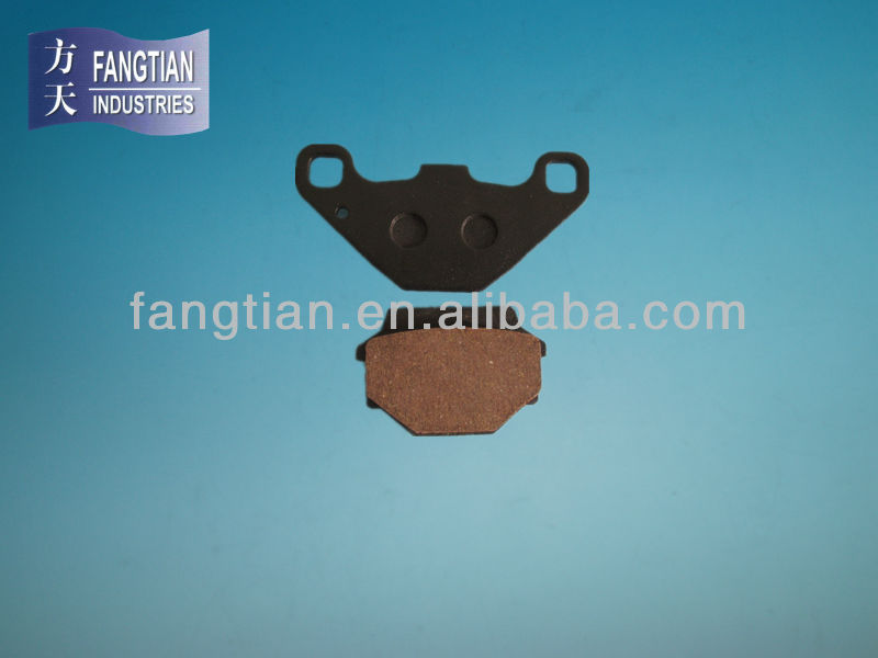 Semi-metallic ATV Motorcycle Brake Pads For Yamaha