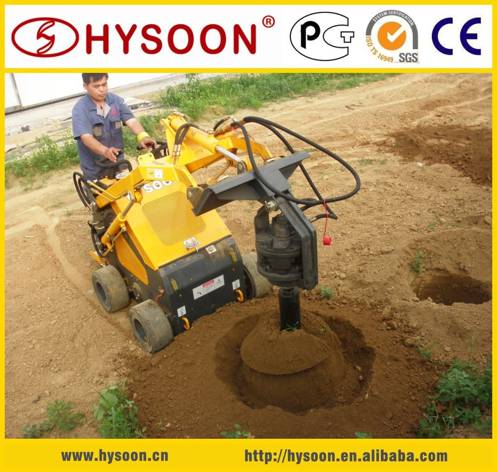 HY380 mini skid steer loader for sale with CE certification