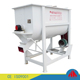 CE Approved Horizontal poultry feed mixer/single shaft double spiral fodder mixer