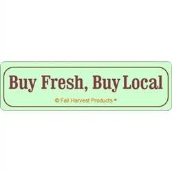 Buy Fresh Buy Local Labels For Egg Cartons - 5 Sheets