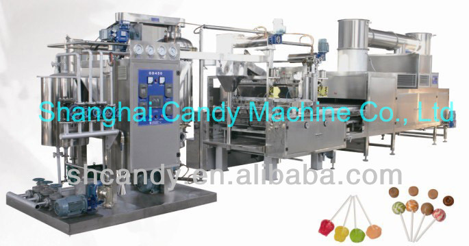 Sell AZ400/600 vacuum hard candy batch cooker