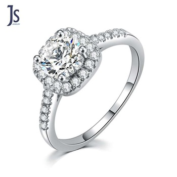 Halo Style 1ct 14K White Gold heart Cut diamond Pave Set Diamond Engagement Ring for men
